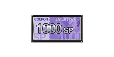 1,000 SP