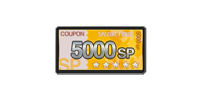 5,000 SP 쿠폰